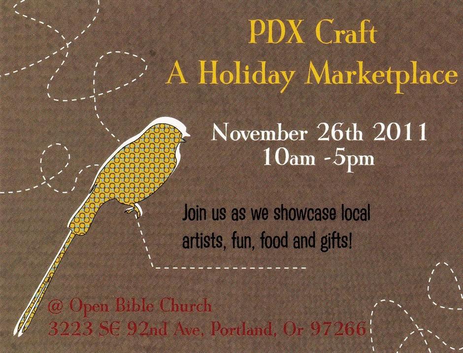Little daisy chains pdx craft sneak peek for Holiday craft fairs portland oregon