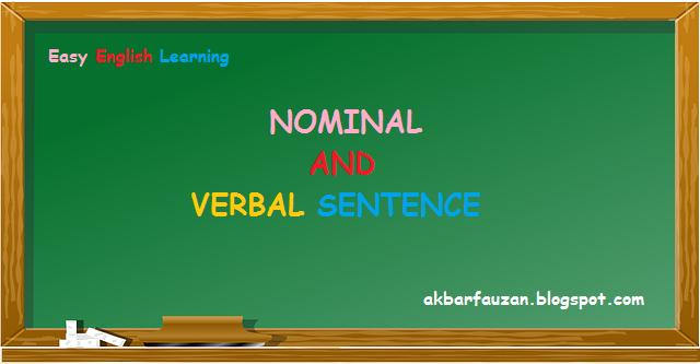 Kalimat Nominal dan Verbal