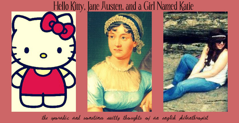 Hello Kitty, Jane Austen, and a Girl Named Katie