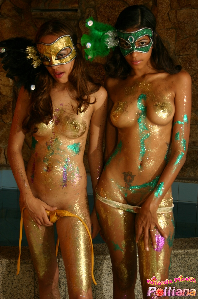Something also Body paint nude girls agree with