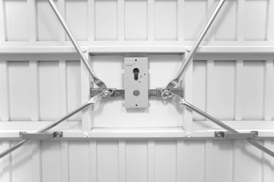 The door industry journal garador s doors prove they re for Door 4 security