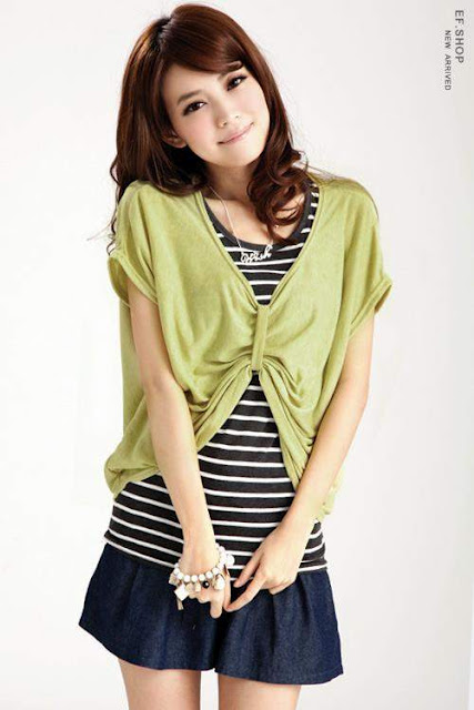 Dress Green dengan Inner