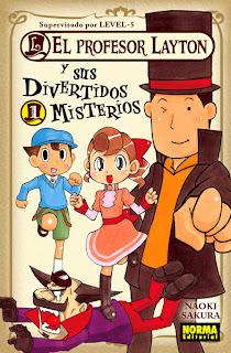 EL PROFESOR LAYTON Y SUS DIVERTIDOS MISTERIOS # 01