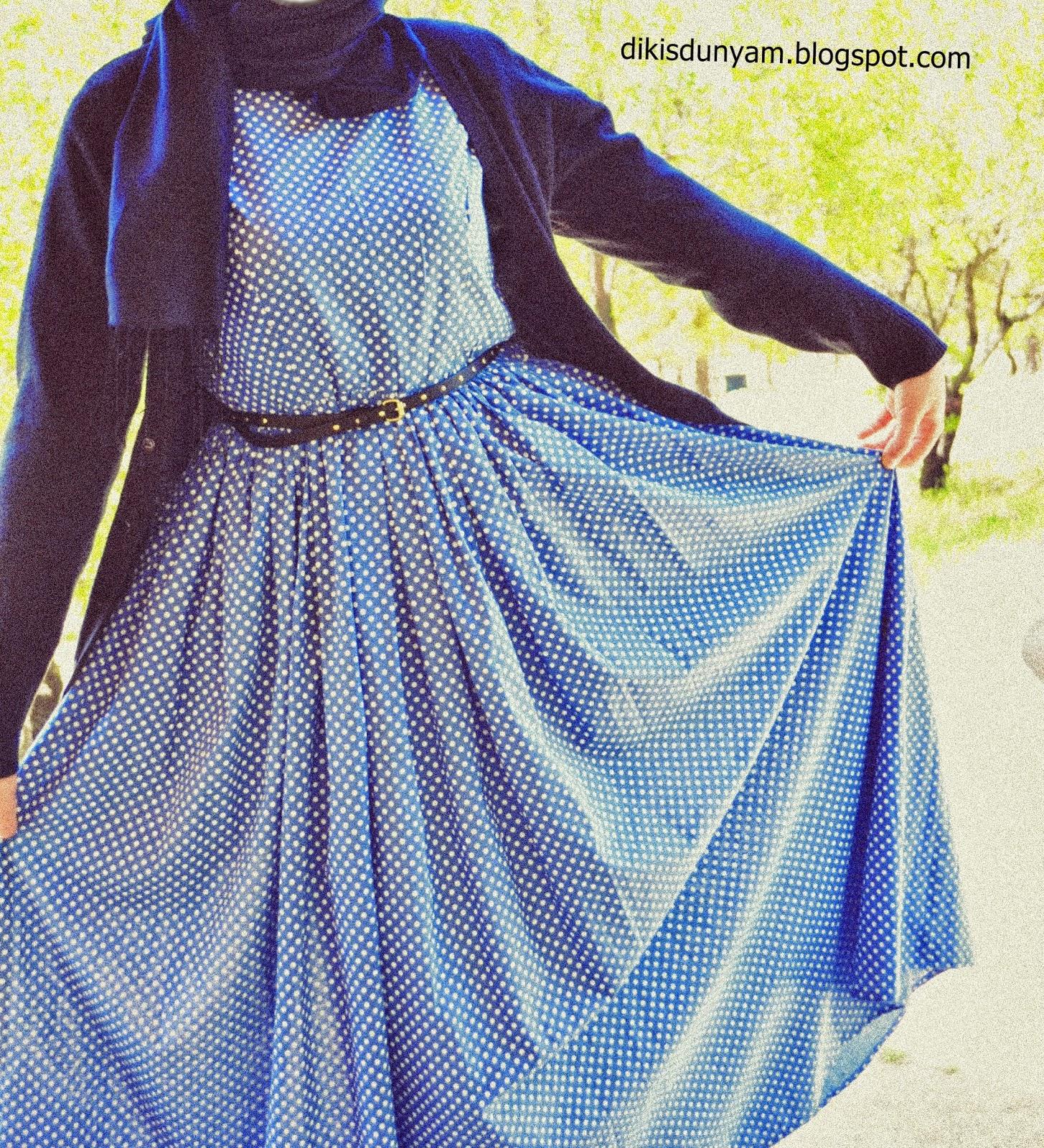tesettür elbise modeli