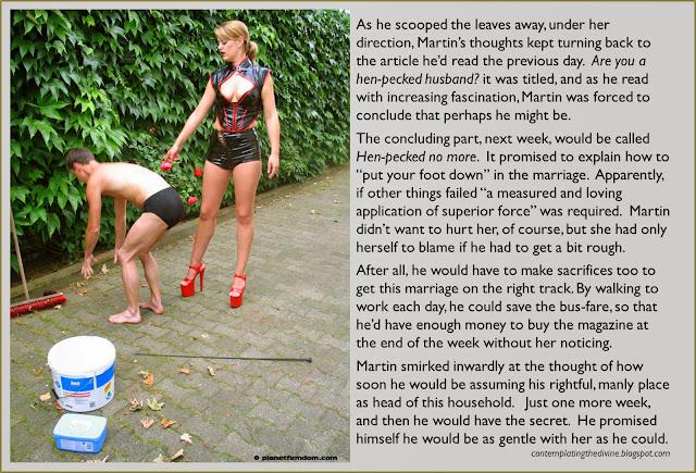 Henpecked slave