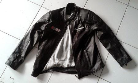 Jaket kulit pembelian CBR lokal