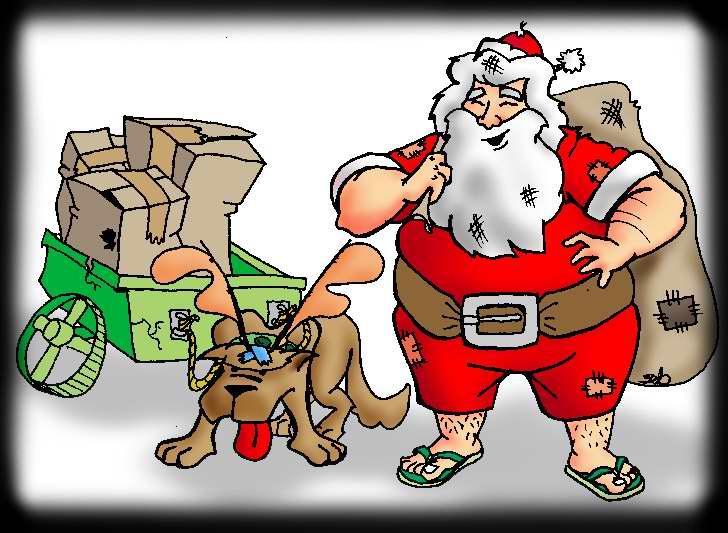 Papa Noel  les  desea Feliz Navidad!