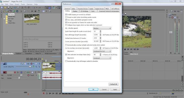 Como fazer vídeos em câmera lenta ou slow motion usando o Sony Vegas