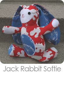 Jack Rabbit Softie