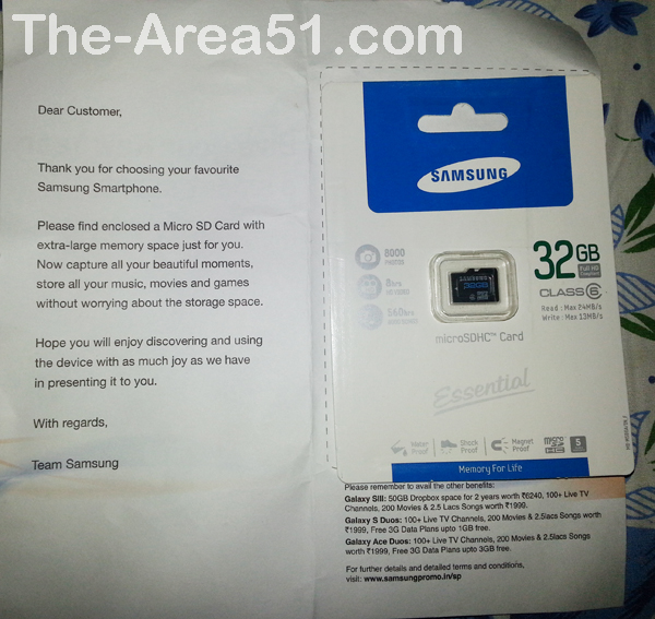 samsung 32 gb micro sd card free offer galaxy s3