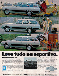 propaganda Caravan SS - Chevrolet - 1977; GM; Chevrolet; reclame de carros anos 70. brazilian advertising cars in the 70. os anos 70. história da década de 70; Brazil in the 70s; propaganda carros anos 70; Oswaldo Hernandez;