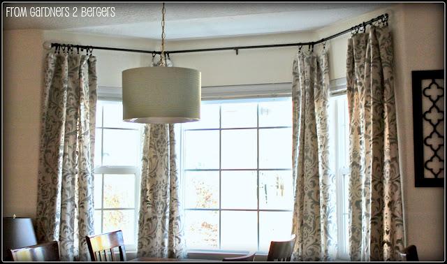 Pole Rustic Elegance Wood Curtain Rods