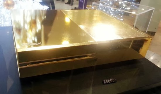 Gold-plated Xbox One sells for around $9,774