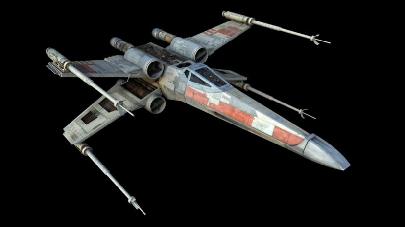 Las naves más molonas de las pelis y series de Sci-fi XwingWoody145