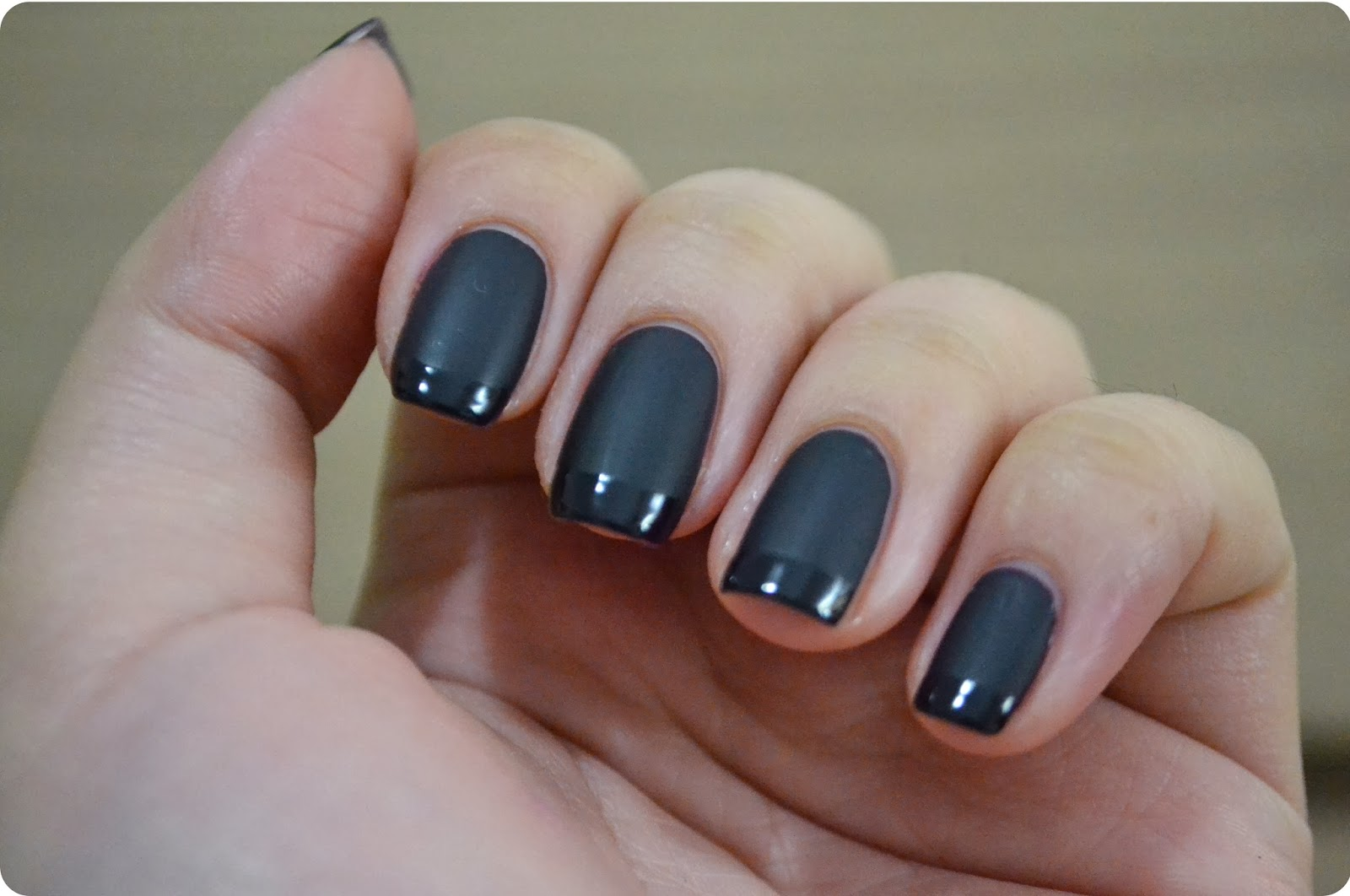 All The Little Extras: Matte vs Glossy Mani Tutorial