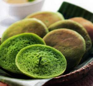 Resep kue serabi hijau