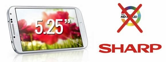 Samsung say goodbye to the Super AMOLED display, Galaxy S5 will use Sharp's 2K display panel