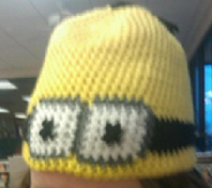 Crochet Fanatic Despicable Me Minion Hat