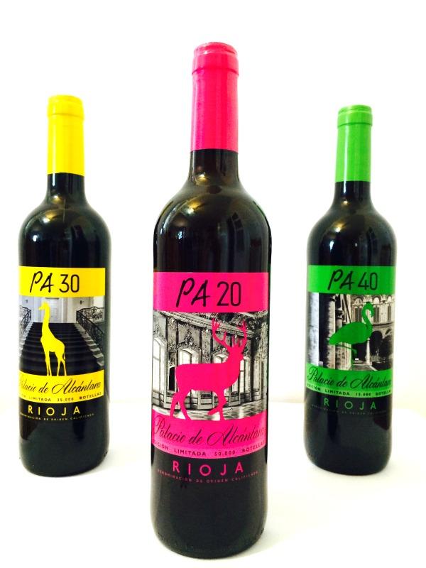 vino tinto Rioja Palacio de Alcantara