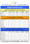 Agenda Esportiva