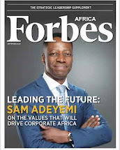 Sam adeyemi on forbes Africa to cover Strategic Leadership Supplement September Issue
