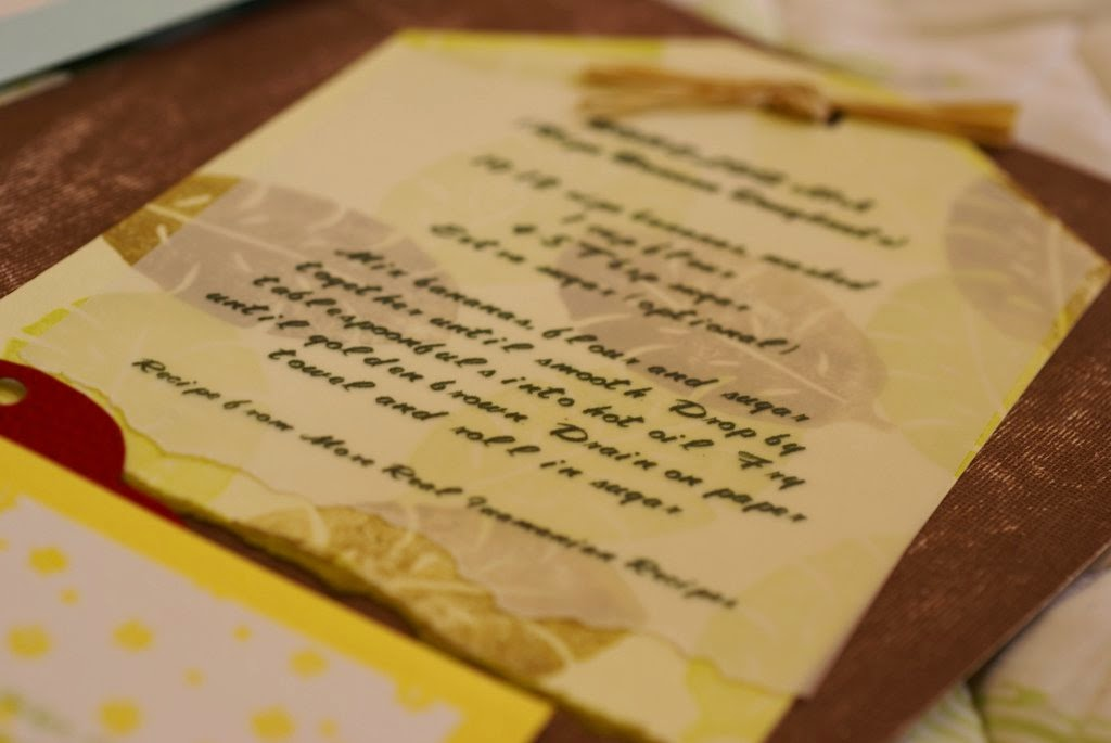 Have You Tried Scrapbooking Recipes?