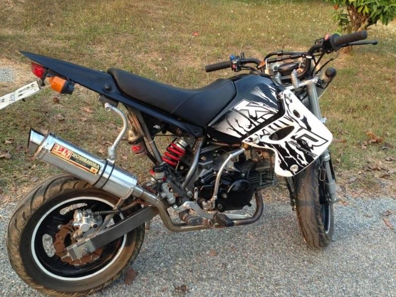 Foto Modifikasi Motor Kawasaki KSR 110