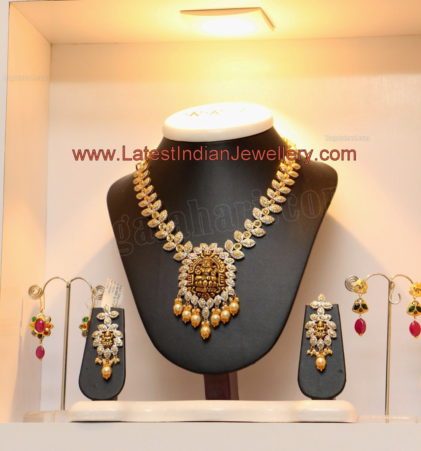 Temple Jewellery in Diamonds