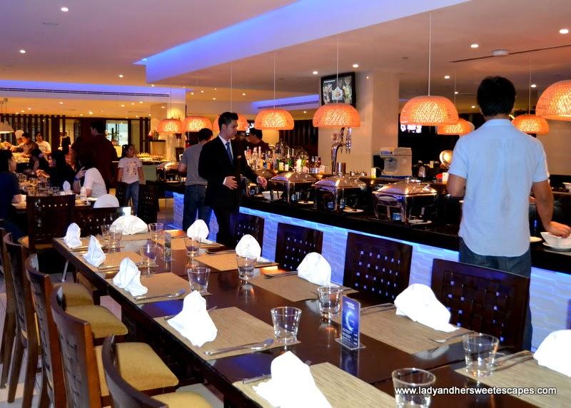 Lamesa Restaurant in Asiana Hotel Dubai