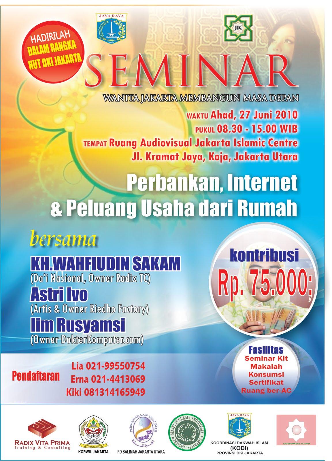 Sepherd News: 10 Contoh Brosur Seminar