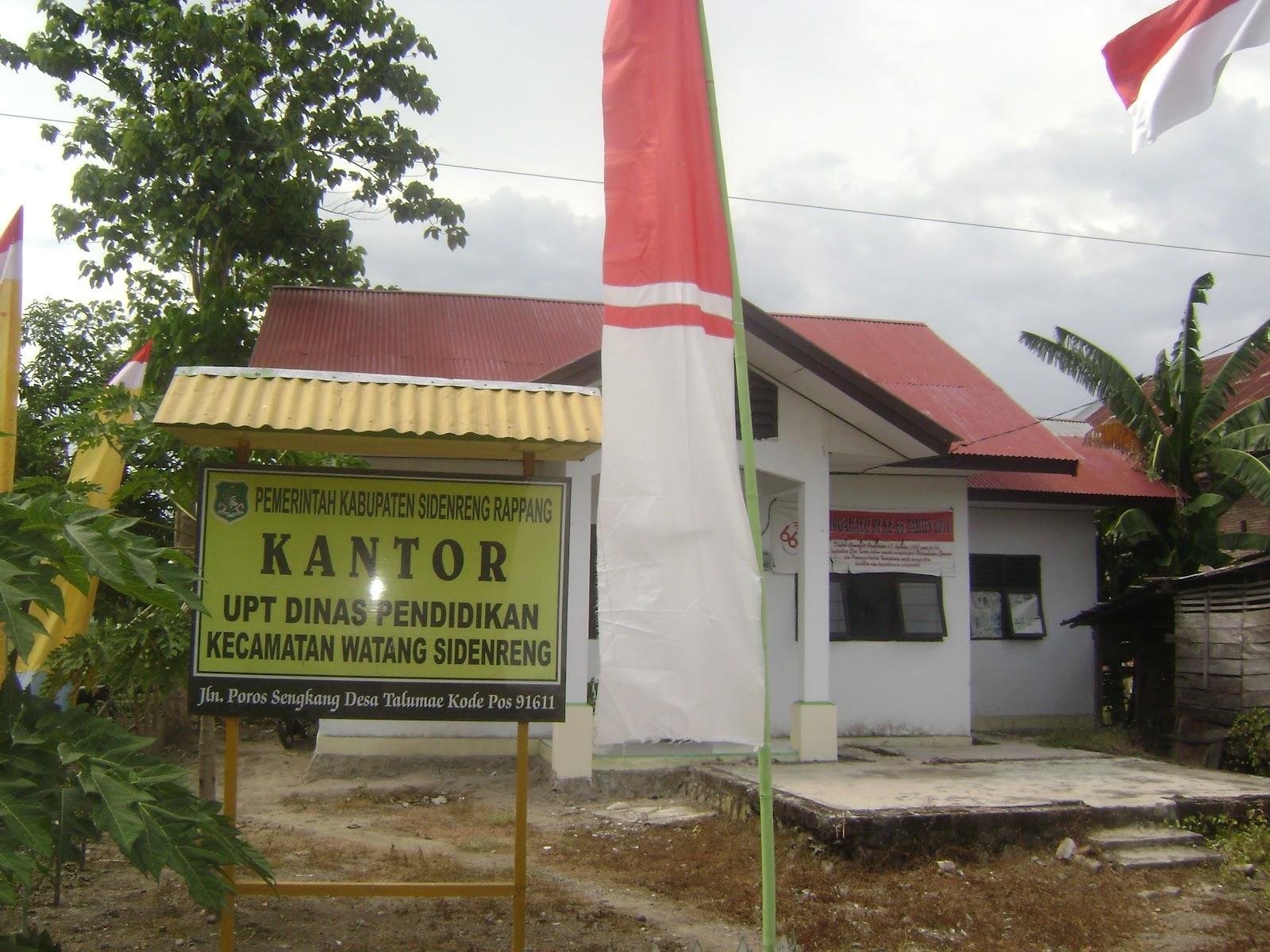 Kantor UPT Dinas Pendidikan Kec. Watang Sidenreng .
