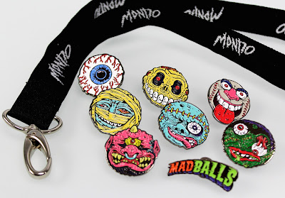 San Diego Comic-Con 2015 Exclusive Madballs Enamel Pins by Mondo
