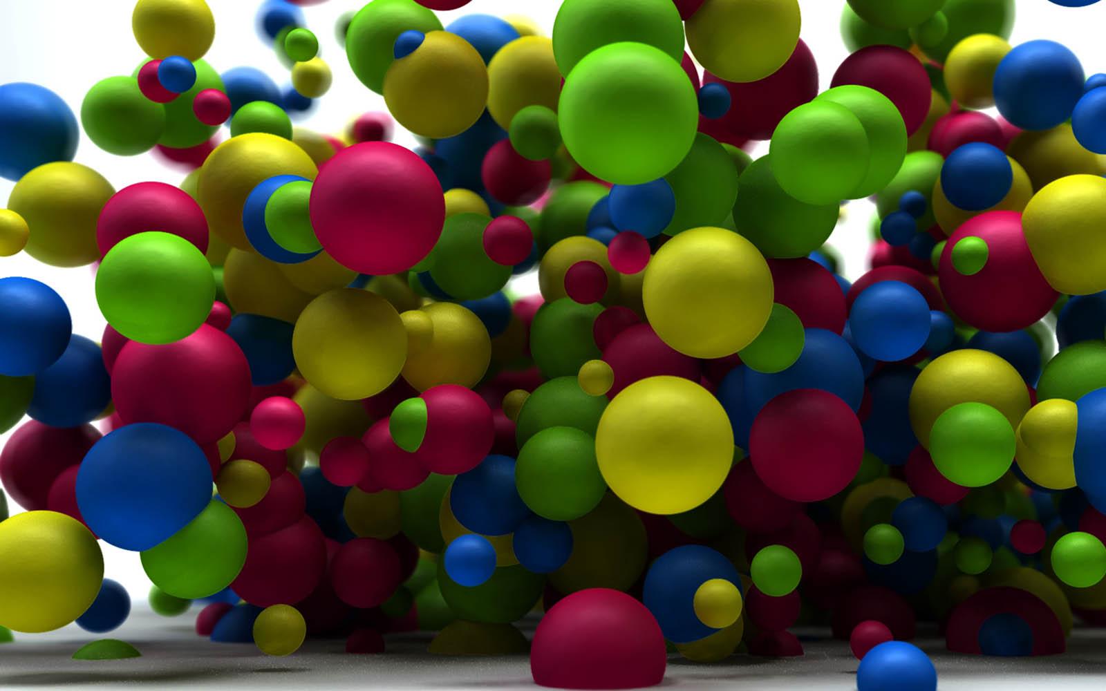 <b>wallpaper</b>: Abstract Balls <b>Wallpapers</b>