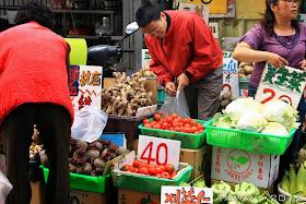 Mercado de agricultores en la ciudad de Pingtung, Taiwán (108 fotos)