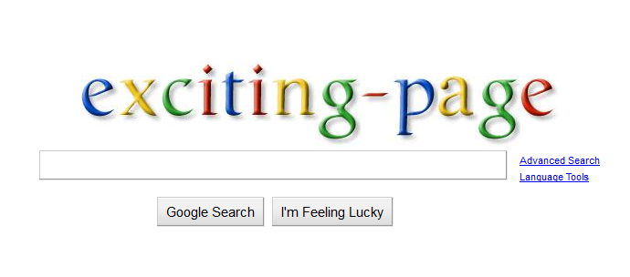 how to make your own page on google