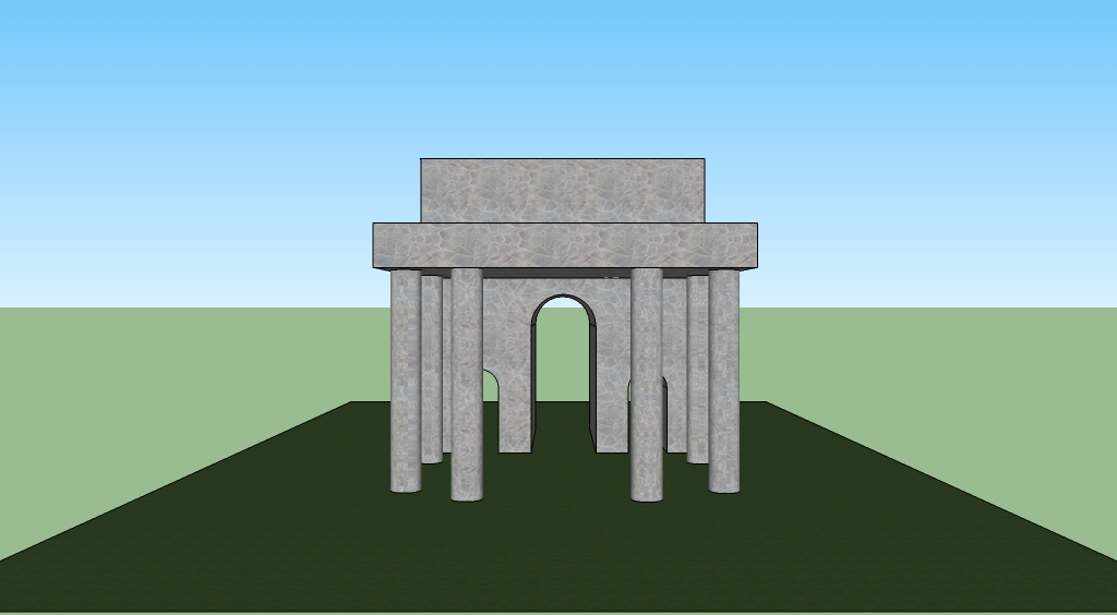 Of Ancient Roman Architecture Such As Columns Arches And Stone