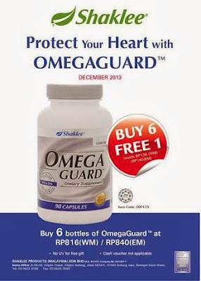harga terbaik omega guard shaklee