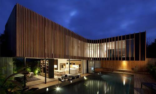 Kooyong House Night