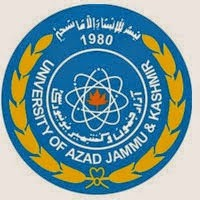 AJK University MSc Result 2016, Part 1, Part 2