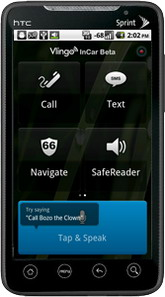 Vlingo InCar for Android debuts, offering hands free messaging solution while driving