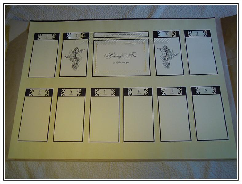 Таблички для рассадки гостей шаблон скачать бесплатно