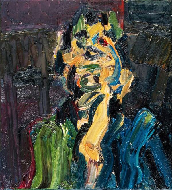 Frank Auerbach Faint Malodorous Light