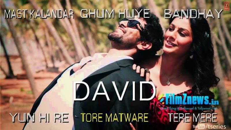 David Hindi Movie Full Audio Songs - Jukebox