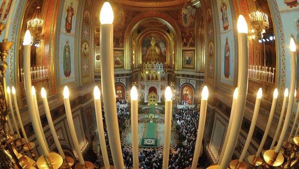 Liturgia en la noche de Sochelnik