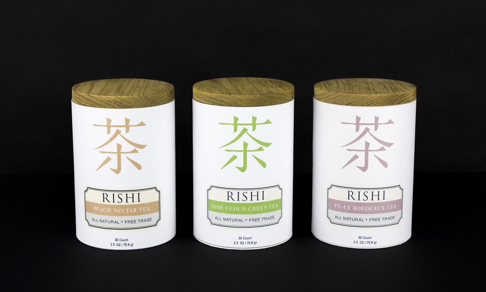 rishi sustainable tea containers  student project  on