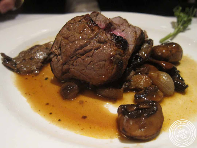 image of filet mignon at The Capltal Grille in Midtown, NYC, New York