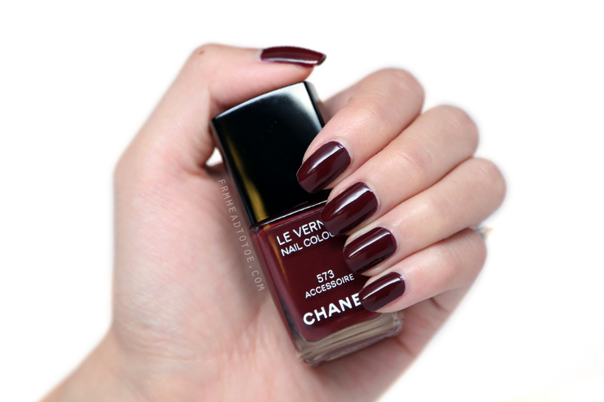 Manicure Monday: Chanel Le Vernis 573 Accessoire - From Head To Toe