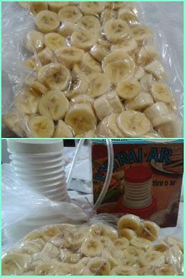 congelando Banana