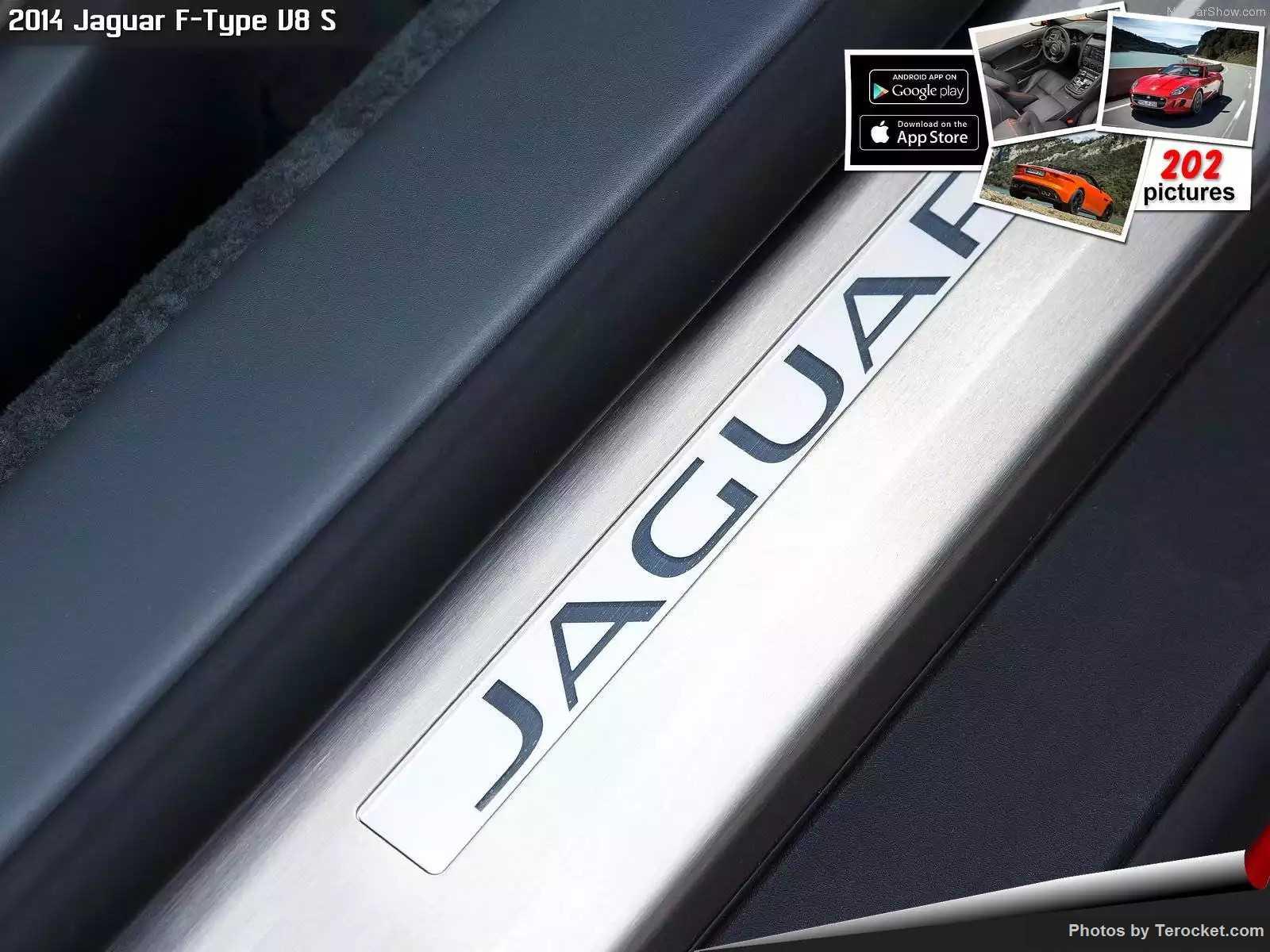 Hình ảnh xe ô tô Jaguar F-Type V8 S 2014 & nội ngoại thất