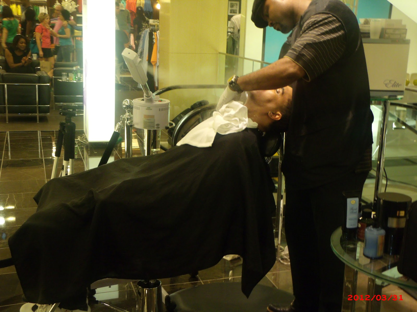 The Art of Shaving  Gourmet Lounge  featuring Groomer J ...